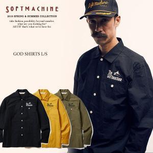 SOFTMACHINE ソフトマシーン GOD SHIRTS L/S(L/S SHIRTS) MAT...