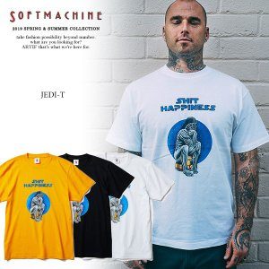 SOFTMACHINE ソフトマシーン JEDI-T(T-SHIRTS) MATERIAL : CO...