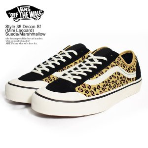 バンズ スニーカー VANS Style 36 Decon Sf (Mini Leopard) Su...