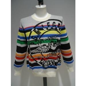 PAGELO/秋冬/50%OFF/ジャガード セーター/3Lサイズ(オリジナル)ホワイト/日本製/大きいサイズ/1点限り|artigiano-uomo