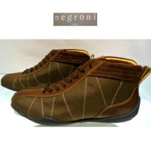 negroni <G.P.HI>ハイカット&ドライビングシューズ/ブラウン/24.0〜27.0cm/日本製/3Eサイズ/GRAND.PRIX.HI-TOP/2020ニューモデル|artigiano-uomo