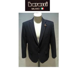 barassi /秋冬/30%OFF/インポートドット ジャケット/46 48 50 サイズ/ブラック&ドット/日本製/イタリア製生地/大きいサイズ/紳士服/人気モデル|artigiano-uomo