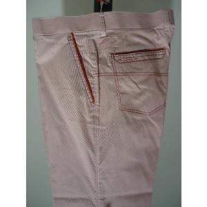 VAGIIE メンズ/春夏/40%OFF/コードレイン パンツ/W100cm/大きいサイズ/レッド系/ポリ&綿/COOL MAX/現品限り|artigiano-uomo