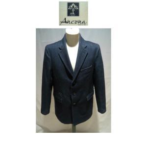 ANCONA<アンコナ>秋冬/40%OFF/インポート チェスターコート/52(3L) サイズ/Mグレー/ウールコート/イタリア製/並行輸入/現品限り|artigiano-uomo