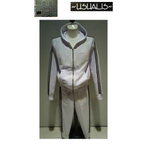 USUALIS<ウザリス>25%OFF/パーカートップス&パンツ/XL(2L) サイズ/ホワイト/イタリア製/大きいサイズ/ALLシーズン/綿100%/現品限り|artigiano-uomo
