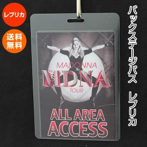 マドンナ バックステージパス レプリカ /MADONNA グッズ /MDNA ワールド ツアー コンサート|artis