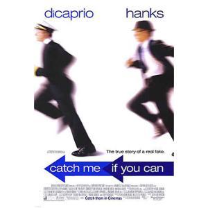 映画『キャッチ・ミー・イフ・ユー・キャン』の枚数限定&両面印刷オリジナルポスターです。配給会社が、枚...