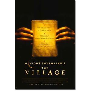 映画『ヴィレッジ』の枚数限定&両面印刷オリジナルポスターです。配給会社が、枚数限定で、各劇場に配布し...