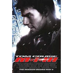 映画『ミッション・インポッシブル3 M:i:III』の枚数限定&両面印刷オリジナルポスターです。配給...