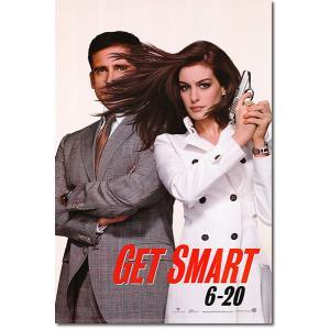 映画『ゲット スマート』の枚数限定&両面印刷オリジナルポスターです!全米の劇場展示限定で作成された希...