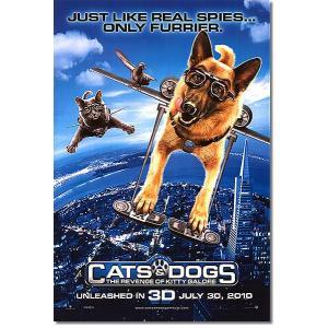 映画ポスター キャッツ&ドッグス 地球最大の肉球大戦争 グッズ /DS