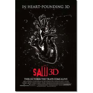 映画ポスター ソウ ザファイナル 3D (SAW 3D) グッズ /心臓 DS artis