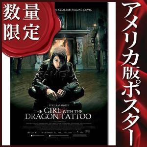 映画ポスター ミレニアム ドラゴンタトゥーの女 グッズ /REG-DS|artis
