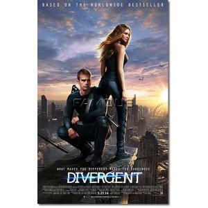 映画『ダイバージェント』の枚数限定&両面印刷オリジナルポスターです。配給会社が、枚数限定で、各劇場に...