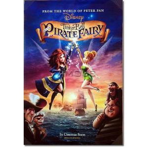 映画ポスター ティンカーベルとネバーランドの海賊船 ディズニーグッズ /DS|artis
