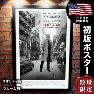 映画ポスター バードマン あるいは (無知がもたらす予期せぬ奇跡) グッズ /レア SS|artis