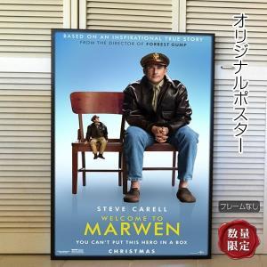 映画ポスター マーウェン スティーヴ・カレル /インテリア アート おしゃれ フレームなし /2nd ADV-両面 artis