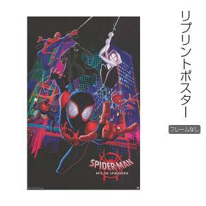 『スパイダーマン:スパイダーバース』の映画ポスター<ミニサイズ>です。★こちらはオリジナルポスターを...