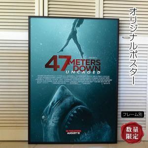 映画ポスター 47メーターズ・ダウン アンケイジド /海底47m 続編 サメ /インテリア アート おしゃれ フレーム別 /REG-片面|artis