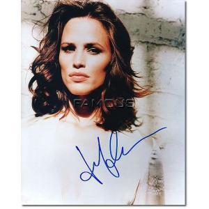 ジェニファー・ガーナー直筆のサインが入ったスチール写真です。安心の一生涯保証付きのオートグラフ(直筆...