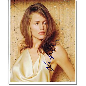 ジェニファー・ガーナー (Jennifer Garner) 直筆のサインが入った、ドラマ『エイリアス...