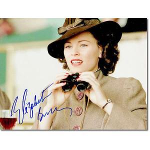 エリザベス・バンクス直筆のサインが入った、映画『シービスケット』のスチール写真です。安心の一生涯保証...