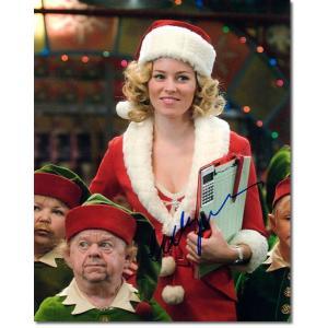 エリザベス・バンクス直筆のサインが入った、映画『ブラザーサンタ』のスチール写真です。安心の一生涯保証...