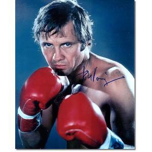 ジョン・ヴォイト直筆のサインが入った、映画『チャンプ』のスチール写真です。安心の一生涯保証付きのオー...