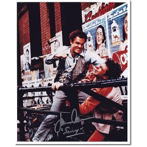 ジェームズ・カーン(ジェームス・カーン)直筆のサインが入った、映画『ゴッドファーザー』スチール写真で...