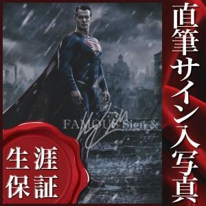 直筆サイン入り写真 ヘンリーカビル (バットマン vs スーパーマン ジャスティスの誕生 映画グッズ)|artis