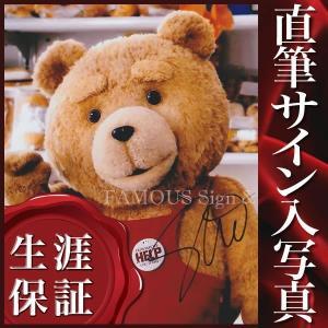 直筆サイン入り写真 セスマクファーレン (テッド2 Ted 2 映画グッズ)|artis