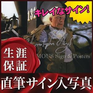 直筆サイン入り写真 クリストファーロイド (バックトゥザフューチャー 映画グッズ/ドク役)|artis