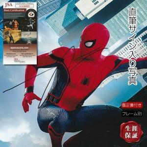 【 証明書(COA)・保証書付き 】トム・ホランド直筆のサインが入った、映画『スパイダーマン ホーム...