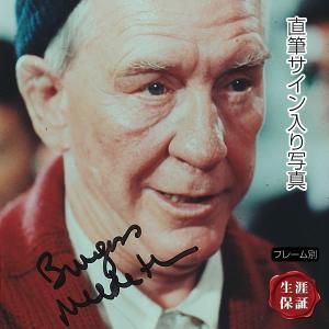 【 証明書(COA)・保証書付き 】バージェス・メレディス直筆のサインが入った、映画『ロッキー』のス...