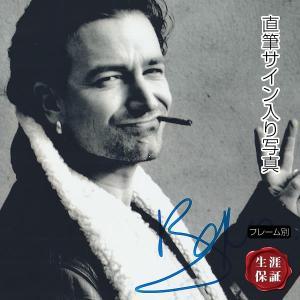 直筆サイン入り写真 ザ・ベスト・オブ U2 等 U2 ボノ BONO グッズ /ブロマイド オートグラフ /フレーム別|artis