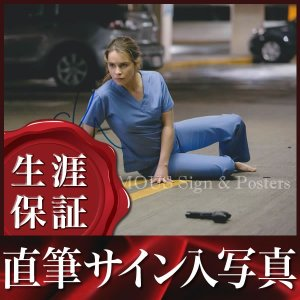 直筆サイン入り写真 エミリアクラーク (ターミネーター:新起動/ジェニシス 映画グッズ)|artis