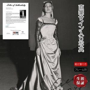 直筆サイン入り写真 マリア・カラス Maria Callas グッズ /オペラ ソプラノ歌手 /ブロ...
