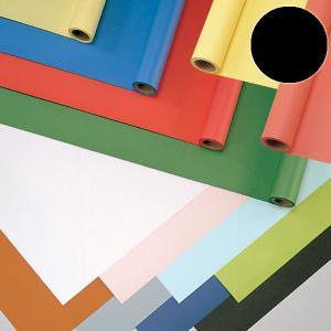 ジャンボロール画用紙R 黒 900mmx10m巻 【 紙 色紙 造形 製作 】|artloco