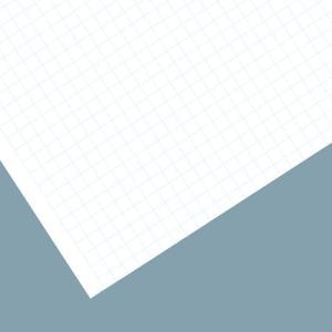 方眼画用紙 マスペーパー 四つ切 100枚組 【 描画用紙 絵画 画用紙 用紙 】|artloco