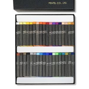 [ ゆうパケット可 ] ぺんてる 専門家用パス オイルパステル 36色セット PTA-36D Pen...