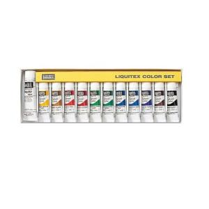 [ ゆうパケット可 ] リキテックス レギュラー 伝統色 R3 12色セット 10ml/W-6 Liquitex|artloco