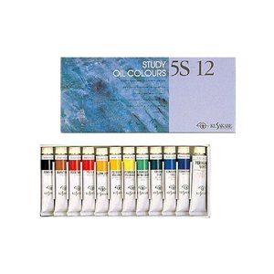 クサカベ 油絵の具 5S-12色セット 【 油絵の具 油彩画 油彩 絵画 絵の具 えのぐ 】|artloco