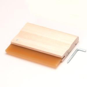 [ ゆうパケット可 ] ウレタン製 スキージー 15cm 【 版画 シルクスクリーン スキージー 】 artloco