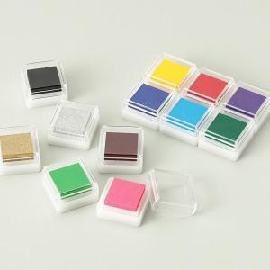 アートニックS カラーパッド 12色セット 【 年賀状 スタンプ台 印鑑 スタンプ 版画】|artloco