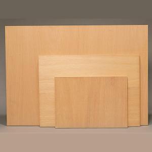 木製パネル ベニヤ板張 B2 【 パネル 木製 展示 描画用紙 】|artloco