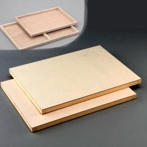 木製パネル HD-2 アク止紙貼 B3 1枚 【 パネル 木製 展示 描画用紙 】|artloco