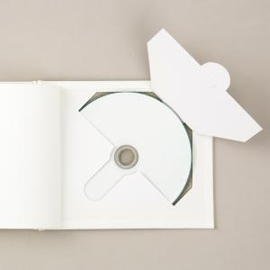 [ メール便可 ] 工作キット DVDが収納できる 白無地 絵本 かくえん本 【 工作 絵本づくり ...