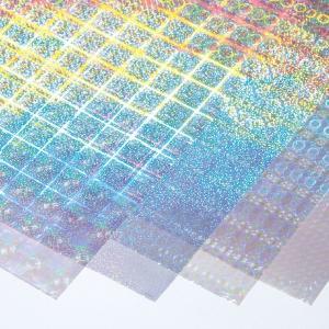 透明ホログラムフィルム 4種セット 【 イベント ホログラム シート おりがみ 】