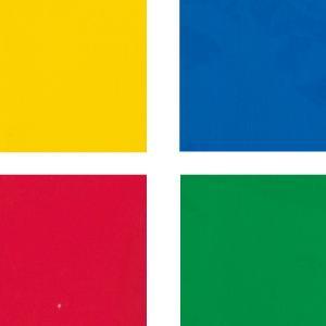 [ ゆうパケット可 ] カラーセロハン 4色組 各1枚 440x320mm 【 セロファン セロハン...