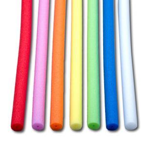 カラーチューブ 7色セット φ12x497mm 【 材料 ポリエチレン 棒 】|artloco